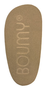 Suede anti-slip sole